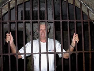Lazareto prison male inmate, Ilha Grande